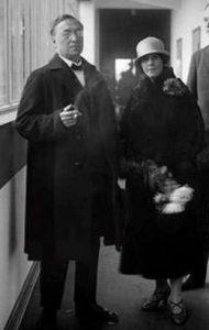 Wassily Kandinsky and Nina Andreevskaya