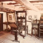 Replica of Gutenberg's press