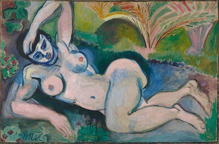 Blue Nude (1907) - Henri Matisse