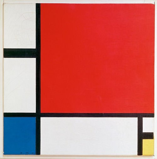 Composition II in Red, Blue, and Yellow (1930) - Piet Mondrian