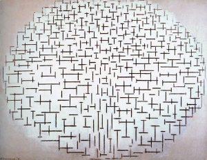 Composition No. 10 (Pier and Ocean, 1915) - Piet Mondrian