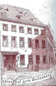 Depiction of Hof zum Gutenberg