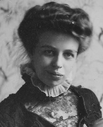 Eleanor Roosevelt in 1908