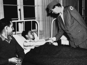 Eleanor Roosevelt during World War II