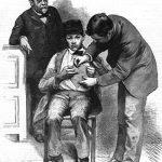 Louis Pasteur vaccination sketch