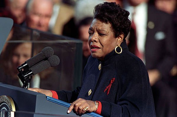 Maya Angelou reciting On the Pulse of Morning
