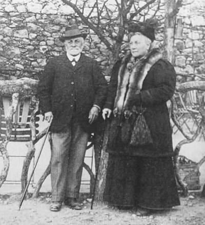 Emile Hippolyte Matisse and Anna Heloise Gerard