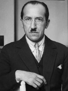 Piet Mondrian in later years
