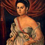 Portrait of Manuela Saenz