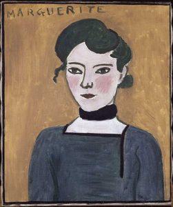 Portrait of Marguerite by Henri Matisse