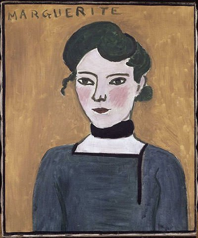 Portrait of Marguerite by Henri Matisse