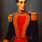 Portrait of Simon Bolivar