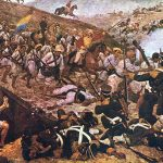 Painting of The Battle of Boyaca