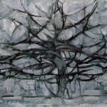 The Gray Tree (1912) - Piet Mondrian