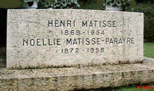 Tombstone of Henri Matisse