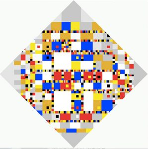 Victory Boogie Woogie (1944) - Piet Mondrian