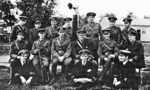 Royal Naval Air Service squad photo