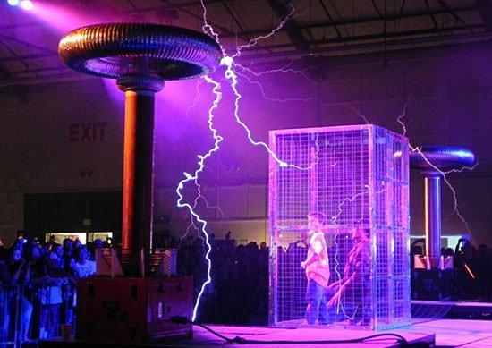 A Faraday cage