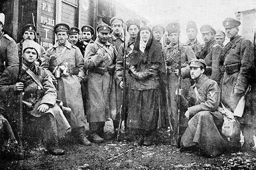 Russian industrial workers