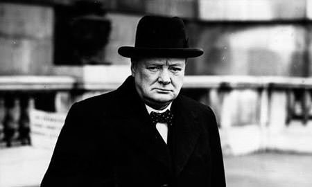 Winston Churchill in 1941