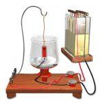 Faraday's Electric Motor diagram