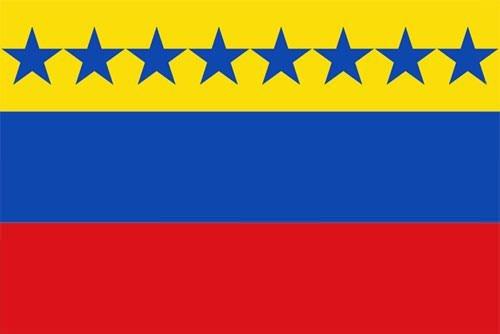 Flag of the Third Republic of Venezuela