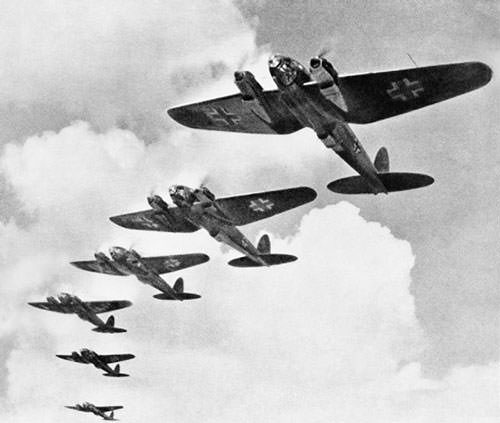 Heinkel He 111 Bombers