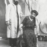 Henri Matisse with his wife Amelie