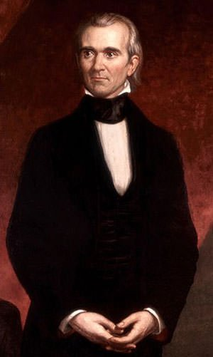 Portrait of James Knox Polk