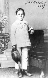 Joseph Meister in 1885