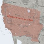 Map of Mexican Cession