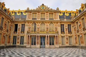 Marble Court at the Palace of Versailles