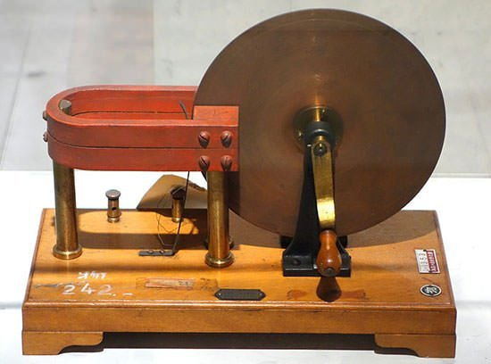 Model of Faraday's disk