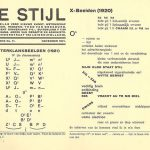 De Stijl magazine page
