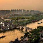 Grand Canal in China