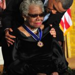 Obama awards the Medal of Freedom to Angelou