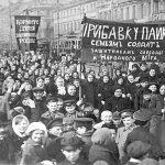 1917 February Revolution protest