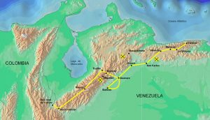 Route of Bolivar's Admirable Campaign