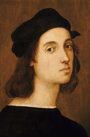 Self-portrait of Raphael
