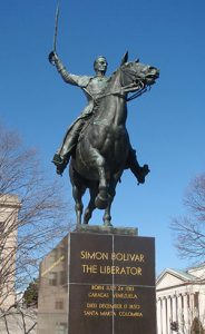 Simon Bolivar Statue in Washington DC
