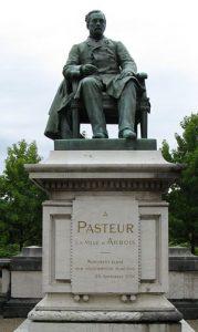 Statue of Louis Pasteur in Arbois