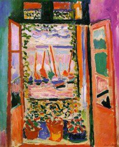 The Open Window, Collioure (1905) - Henri Matisse