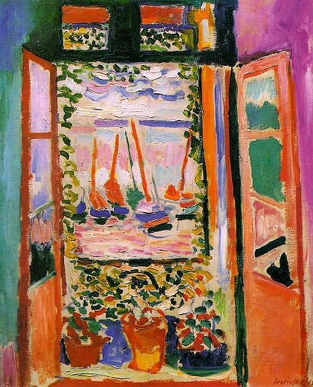 The Open Window, Collioure (1905) - Henri Matisse