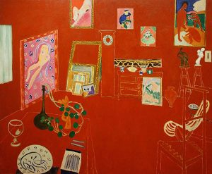 The Red Studio (1911) - Henri Matisse