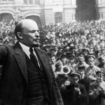 Vladimir Lenin during the Russian Revolution
