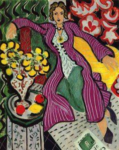 Woman in a Purple Coat (1937) - Henri Matisse