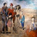 Family of Saltimbanques (1905) - Pablo Picasso