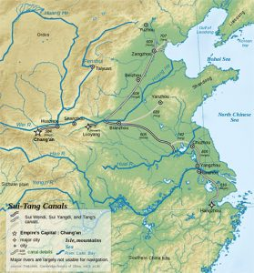 Map of the Grand Canal