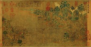 Stroll About in Spring - Zhan Ziqian