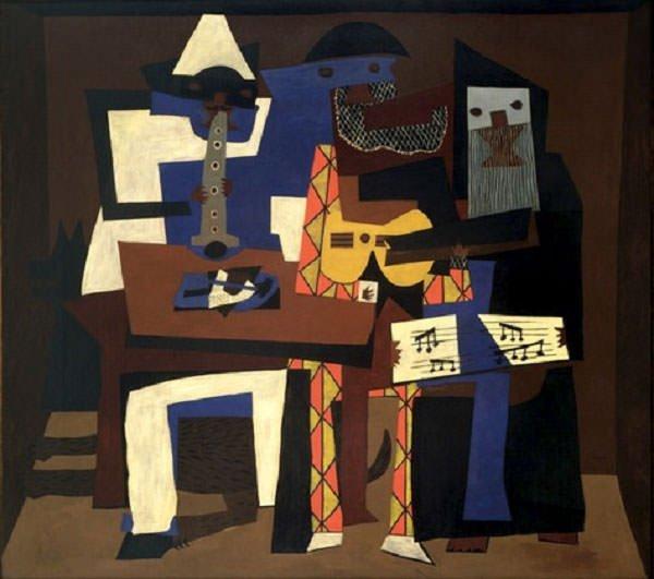Three Musicians (1921) - Pablo Picasso